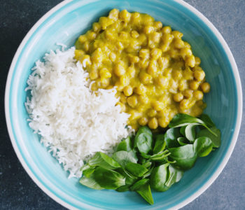 Curry sin carne